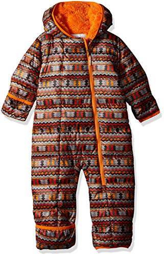- Columbia Unisex Baby Infant Frosty Freeze Bunting, Solar Zigzag Print, 18/24
