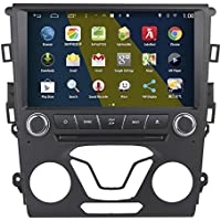 Rupse 9inch HD Android 4.4.4 GPS Capacitive Screen DVD Player Car Navigation Stereo For 2014 Ford Fusion