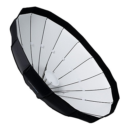 Fotodiox EZ-Pro 48in (120cm) Collapsible Beauty Dish Softbox with Bowens S-Type Speedring Insert
