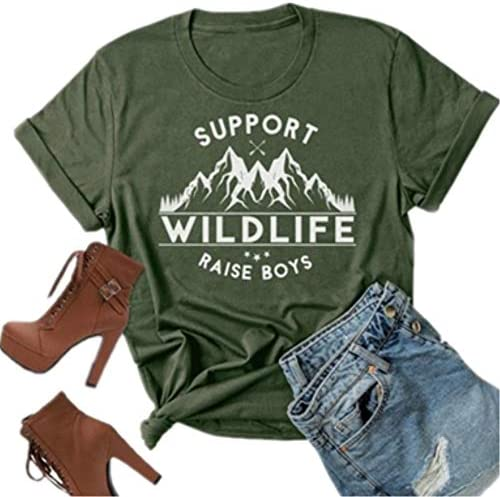 Support Wildlife Mountain Graphic Letter product image