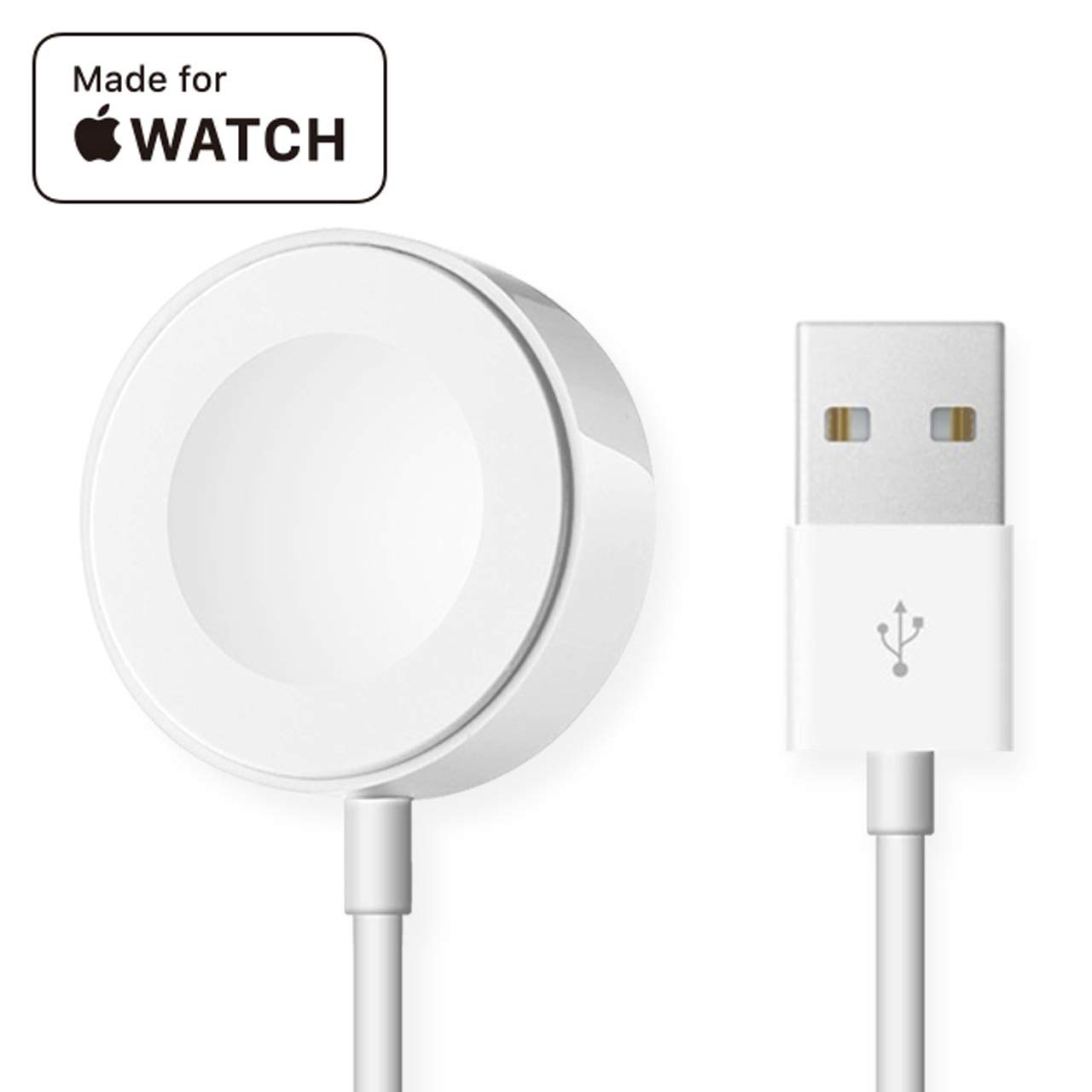 BrandonRyan Wireless Watch Charger for iWatch Magnetic Charging Cable Portable Charger Pad 3.3 FT for 38mm 42mm iWatch