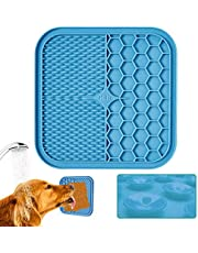 KILIN Lick Mat for Dogs, Lick Pad for Boredom Distraction&Anxiety Relief,Dog Food Mat for Peanut Butter or Yogurt,Snuffle Mat Fun Alternative to a Slow Feeder Dog Bowl,dog enrichment toys&Treat Mat for Bathing,Grooming,and Training