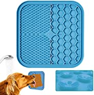 KILIN Lick Mat for Dogs, Lick Pad for Boredom Distraction&Anxiety Relief,Dog Food Mat for Peanut Butter or