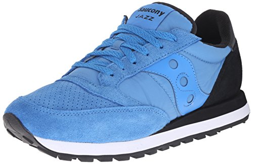 Saucony Originals Mens Jazz O ST Classic Retro Running Shoe Blue/Black wvmX1LxSf1