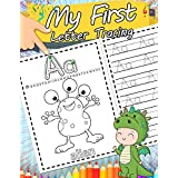 My First Letter Tracing: The Big Book of Letter Tracing Practice for Toddlers Handwriting And Coloring Workbook Essential Preschool Skills for Ages 2-4