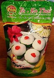 madam pum ta ko thai (rice flour custard with coconut cream) - 6oz