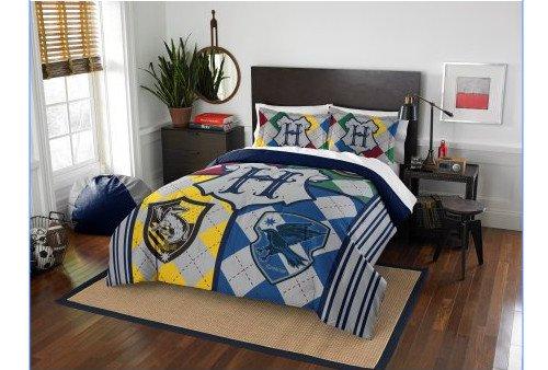 Harry Potter Full / Queen Comforter & Pillow Shams (3 Piece Bedding Set) + HOMEMADE WAX MELT