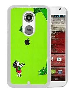 Giving Tree White Popular Sell Customized Design Motorola Moto X 2nd Generation Case