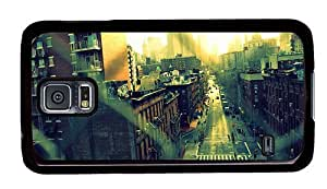 Hipster Samsung Galaxy S5 Case pretty cases new york city chinatown PC Black for Samsung S5
