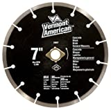 Vermont American 28607 Diamond Blade General Purpose Premium 7-Inch Segmented for $14.12.