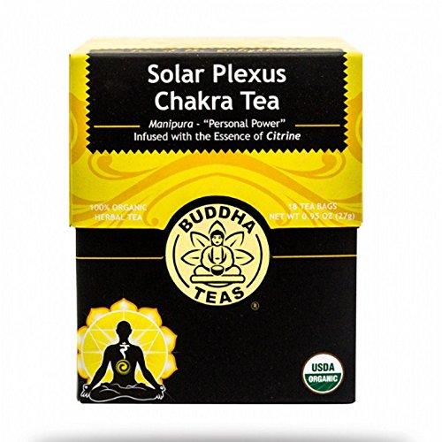 BUDDHA TEAS, Tea, Og1, Solar Plexus Chak, Pack of 6, Size 18 CT, (Gluten Free 100% Organic) by Buddha Teas