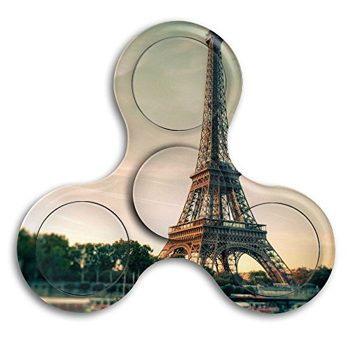 [Eiffel Tower Tri-Spinner Fidget Toy 2-5 Minutes Stress Reducer Relieve Anxiety And Boredom Double-sided Print For Kids And Adults] (Eiffel Tower 3 Person Costume)
