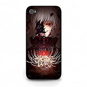 Unique Design(TM) Iphone 5 5s Case Cover Engineer Disney Cartoon Anime Comics Character Tokyo ghouls Hard Tpu Slim Fit Rubber Custom Black Protective Accessories for Girls