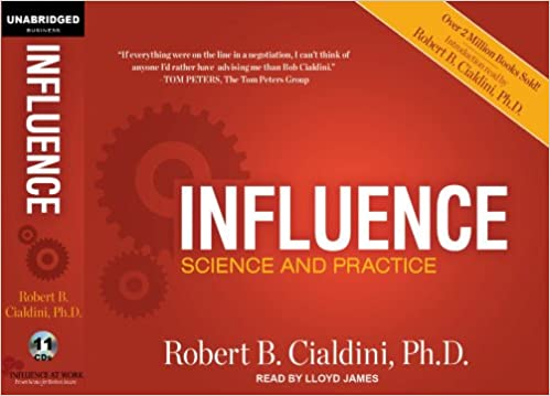 Influence robert cialdini audiobook