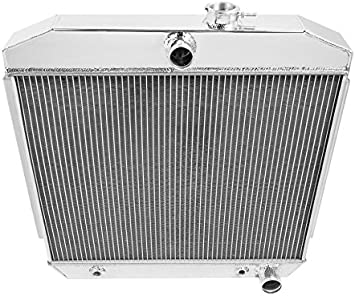 3 Row ALUMINUM RADIATOR CHEVY BEL AIR V8 Engine W//COOLER 55 56 57 1955 1956 1957