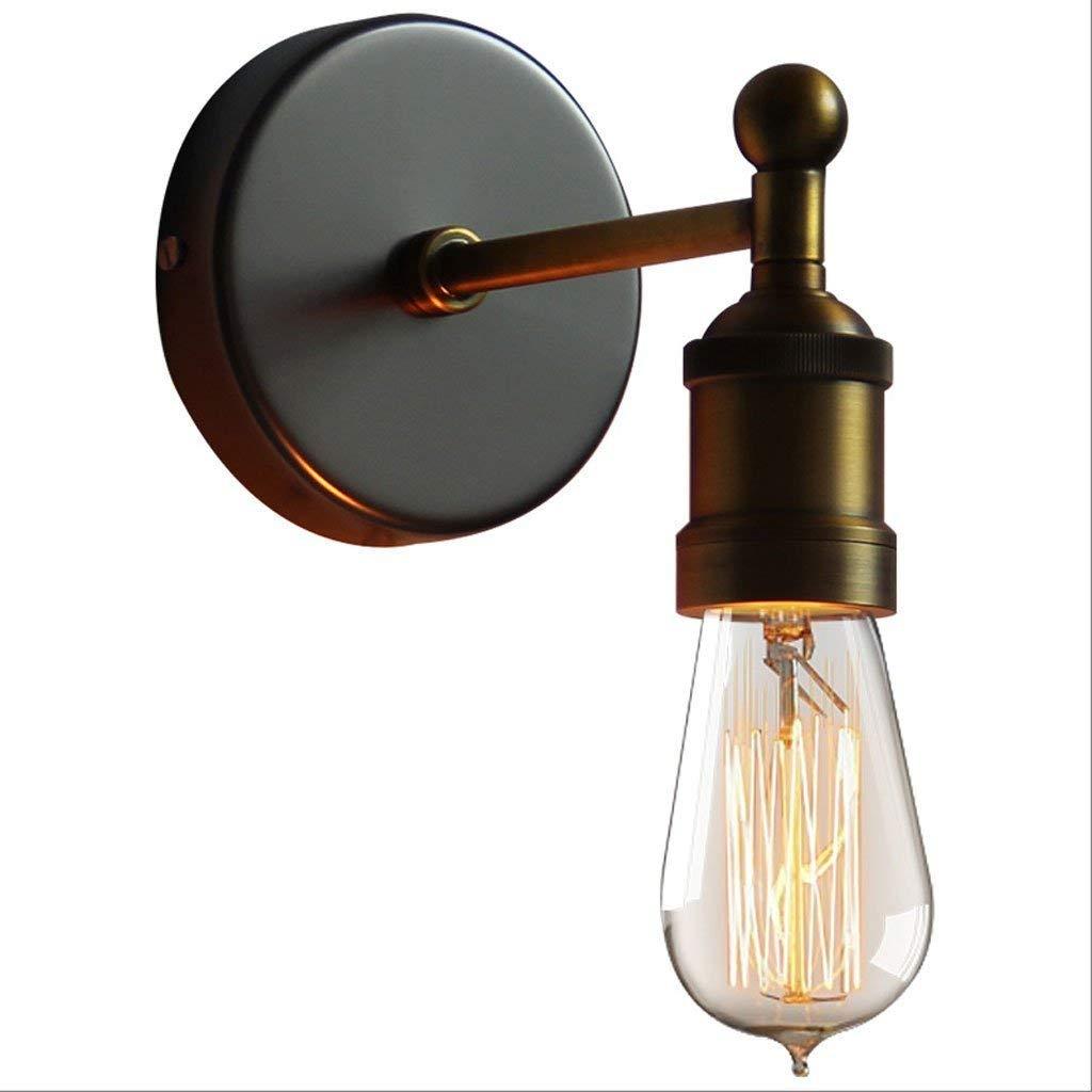 NANIH Home Iron Vintage Kupfer Lampe Wohnzimmer Bedside Restaurant Industrial Wind Wandleuchte Wandleuchte