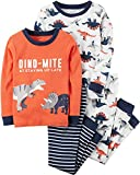 Carter's Boys' 2T-12 4 Piece Dino-Mite Snug Fit Cotton PJs 4T