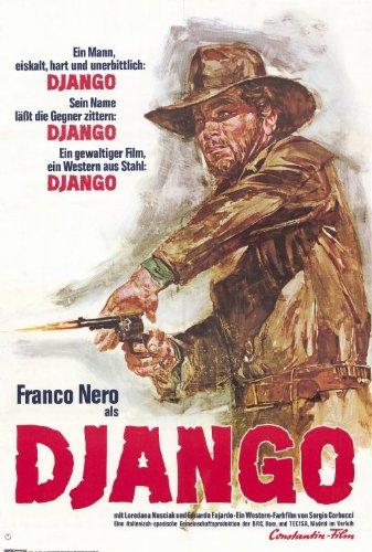 Django Poster German 27x40 Franco Nero