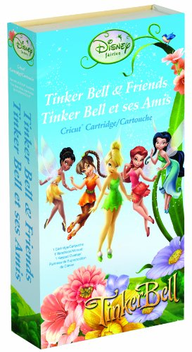 Cricut Disney Cartridge, Tinker Bell &