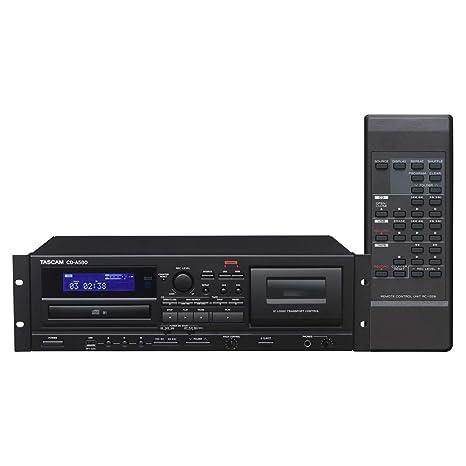 Tascam CD-A580 - Grabador CD/Cassette/USB