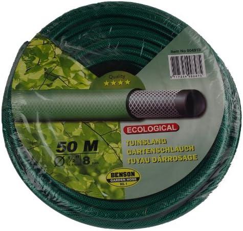 Manguera de jardín de 50 m, manguera de riego: Amazon.es: Jardín