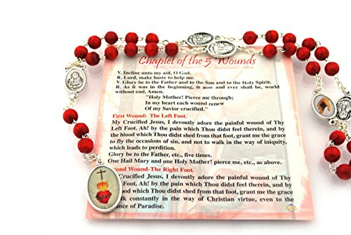 nds/with Prayer Card (Chaplet Card)
