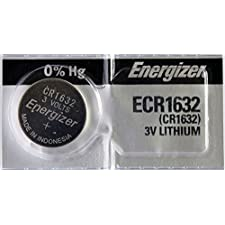 Energizer CR1632 3 Volt Lithium Coin Battery (pack of 5)