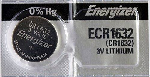 Lithium Battery Shelf Life - Energizer CR1632 3 Volt Lithium Coin Battery (pack of 5)