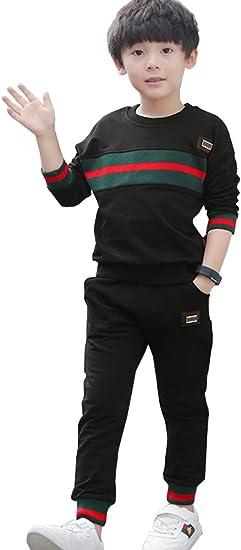 NABER Boys Casual Sports Wear 2pc Sweatshirts /& Pants Set 4-10 Y
