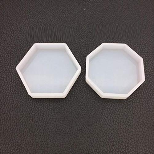 Welcome to Joyful Home 2pcs/Set Hexagon and Octagonal Casting Mold Silicon Mould Resin Jewelry Making DIY Craft