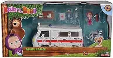 White Simba 109309863 Masha and Michka Ambulance