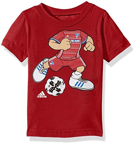 Outerstuff MLS FC Dallas Boys Dream Job Soccer Player Short Sleeve Tee, 18 Months, Dark ()