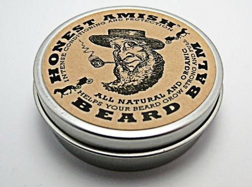 Честный амишей Борода Бальзам несмываемый кондиционер - все природные -Vegan Дружественный органические масла и сливки