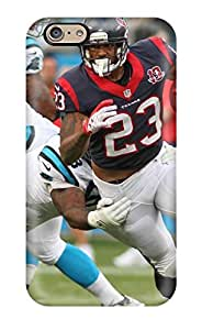 Flexible Tpu Back Case Cover For Iphone 6 - Houston Texans Arolina Panthers