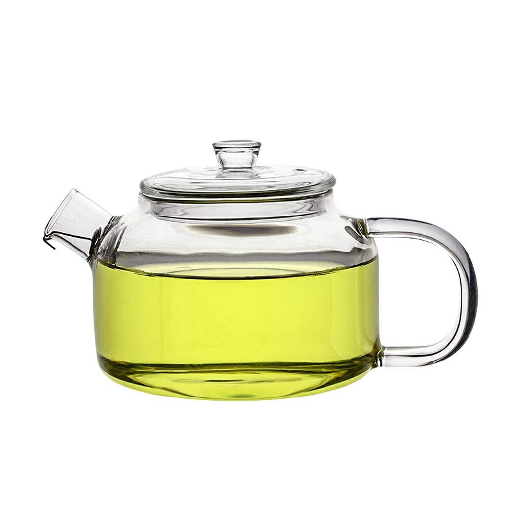 Teekanne LITING_Wang Hochtemperaturbeständige Filter Tee Brewing Bubble Schwarzer Tee Grüner Tee Glas Transparente Single Pot Kleine Kungfu
