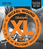 3 Sets of D'addario EXL110BT Balanced Tension Light Electric Guitar Strings