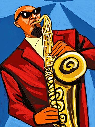 Sonny Rollins Print Poster cd lp record album vinyl Tenor Sax saxophone colossus way