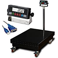 Heavy Duty 1000lbx0.1lb Bench Scale / Floor Scale with Indicator