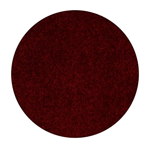 Bright House Solid Color Area Rug, 6' Round, - Round Color