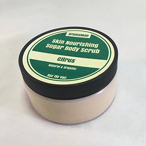 Aromaman Sugar Body Scrub - All Natural - Handcrafted