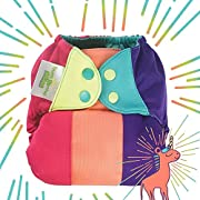 Limited Edition: bumGenius Elemental 3.0 All-in-One One-Size Cloth Diaper with Organic Cotton - Unicorn Tay-Tay