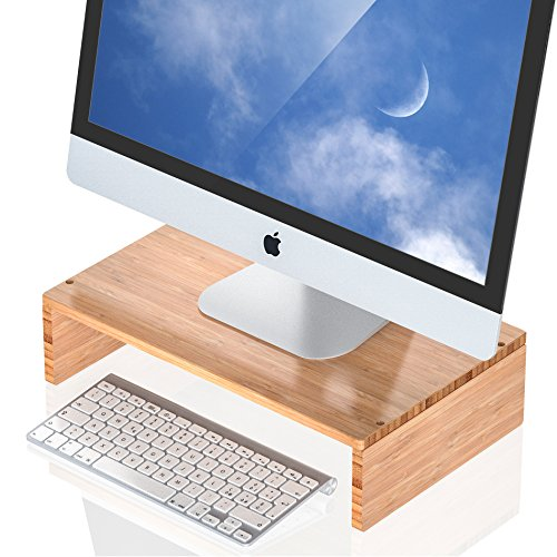 Well Weng Monitor Riser Stand for Computer Laptop Desk iMac Printer (1PACK) by Well Weng