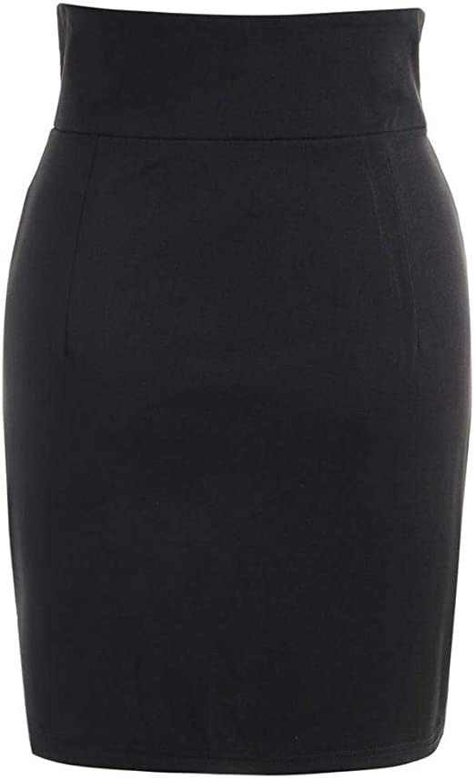 Ba Zha Hei Faldas Señoras Mini Falda Falda Negra Ocio Moda ...