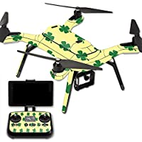 MightySkins Protective Vinyl Skin Decal for 3DR Solo Drone Quadcopter wrap cover sticker skins Lucky You