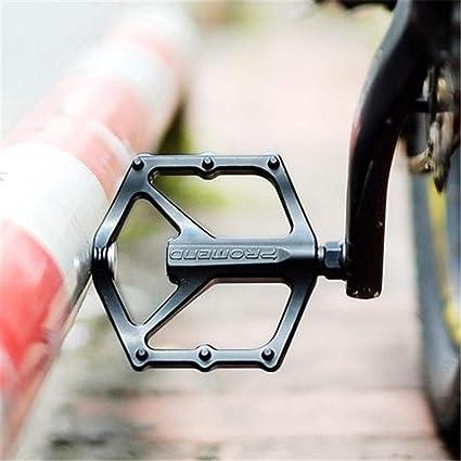 Folding Bicycle Pedals Flat 1 Pair Foldable MTB Road Anti-slip Aluminum Alloy OO