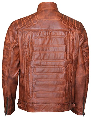 Smoke Piumino Giacca Brown Uomo Red qzE6dqw