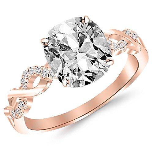 0.63 Ct Tw Diamond - 1
