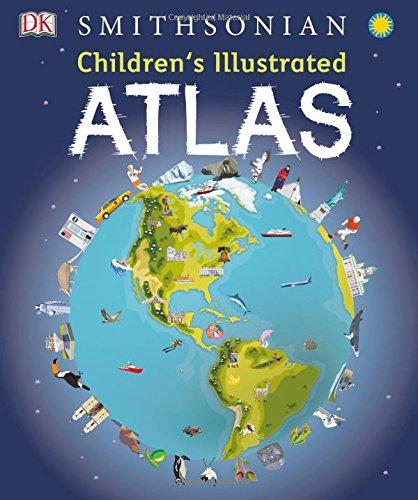 Children's Illustrated Atlas (Kids Maps For)