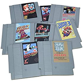 Paladone Nintendo NES Cartridge Coasters for Drinks