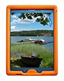 Bobj Rugged Case for Samsung Galaxy Tab A 8 inch 2015 Tablet, (SM-T350), Tab A Plus, (NOT FOR 2017 Tab A2 Model SM-T380) - BobjGear Custom Fit - Patented Venting - Kid Friendly (Outrageous Orange)